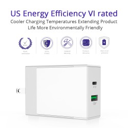 Tronsmart W2DT 48W USB PD Wall Charger with Quick Charge 3.0