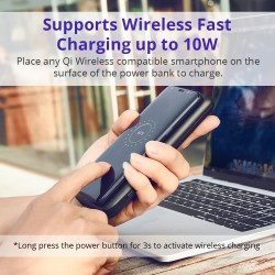 Tronsmart AirAmp 8000mAh Hybrid Wireless Charging Power Bank
