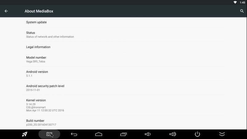 Vega S95 Pro, Meta, Telos Firmwares -