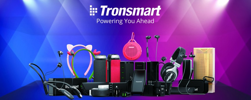 Tronsmart presented a wide variety of new products at Global Sources Electronics Fair 2017