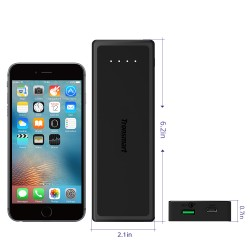 Tronsmart Presto 10400mAh Quick Charge 3.0 Power Bank with Type-C Input&Output
