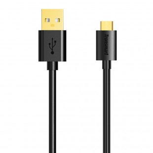 Tronsmart MUS01 Premium USB Cables 1 Pack (1ft/0.3m) with Gold-Plated Connectors