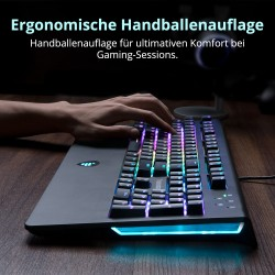 TK09R RGB Mechanical Gaming Keyboard - German Layout