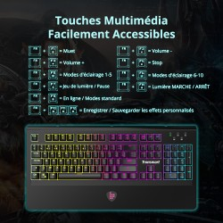 RGB Mechanical Gaming Keyboard - AZERTY French Laybout