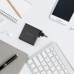 WCP02 60W USB-C PD 3.0 Wall Charger