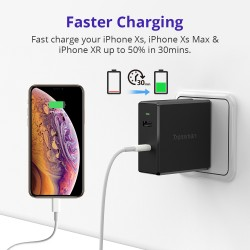 WCP03 57W USB-C PD 3.0 Wall Charger