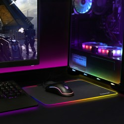Shine X RGB Gaming Mouse Pad