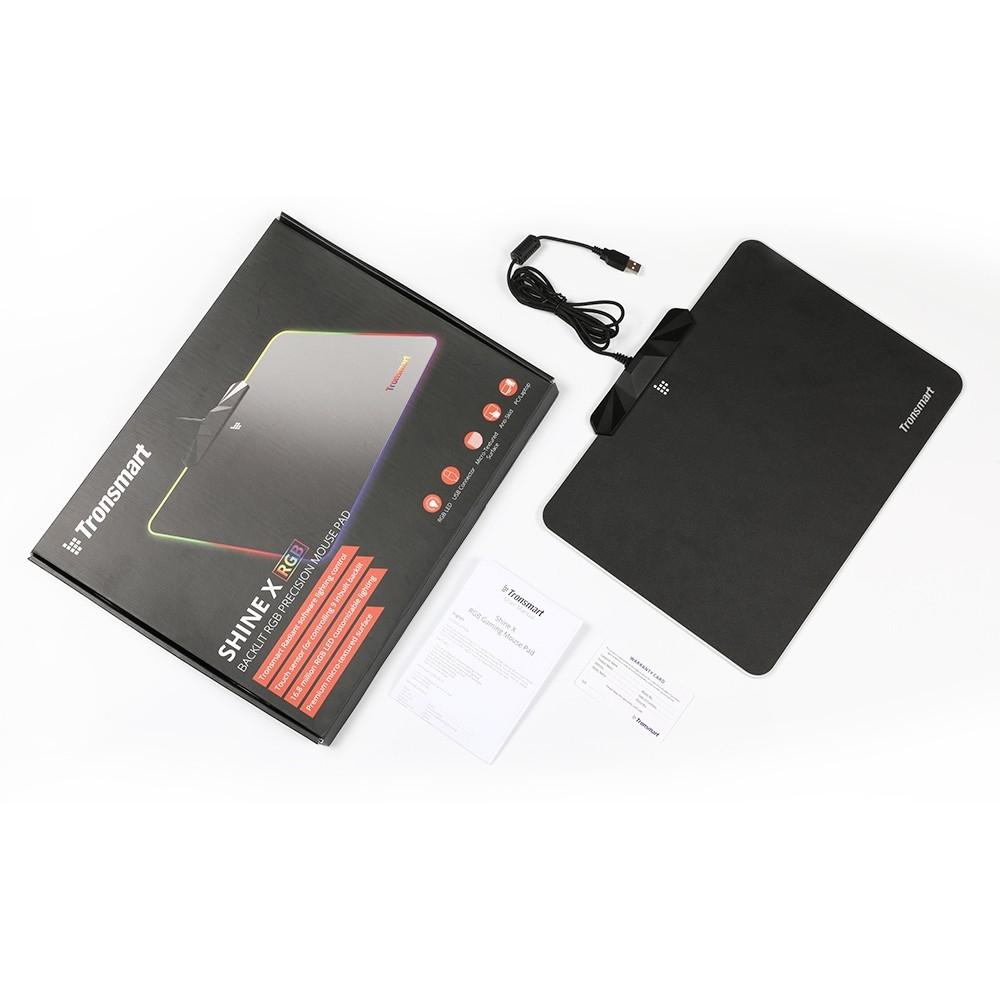 Shine X RGB Gaming Mouse Pad
