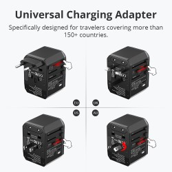 WCP05 33W Universal Travel Adapter