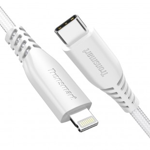 Double Braided Nylon 4FT USB-C to Lightning Cable