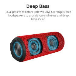 Element T6 Plus SoundPulse™ Portable Bluetooth Speaker