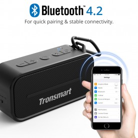 Tronsmart Element T2 Outdoor Waterproof Bluetooth Speaker