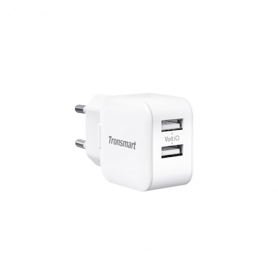W02 Dual Port Mini Wall Charger