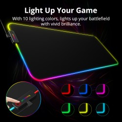 Spire Cloth Gaming Mouse Pad - Extended