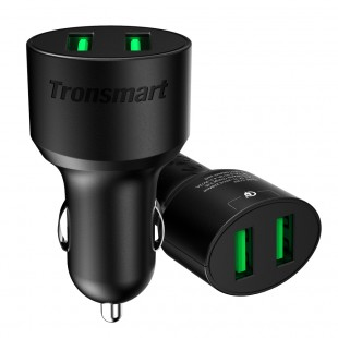 Tronsmart CC2TF 36W Dual Ports Quick Charge 3.0 Car Charger