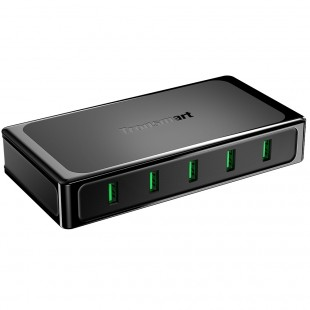 U5TF 5 Ports Quick Charge 3.0 USB Wall Charger