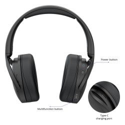 Tronsmart Apollo Q10 Hybrid Active Noise Cancelling Headset