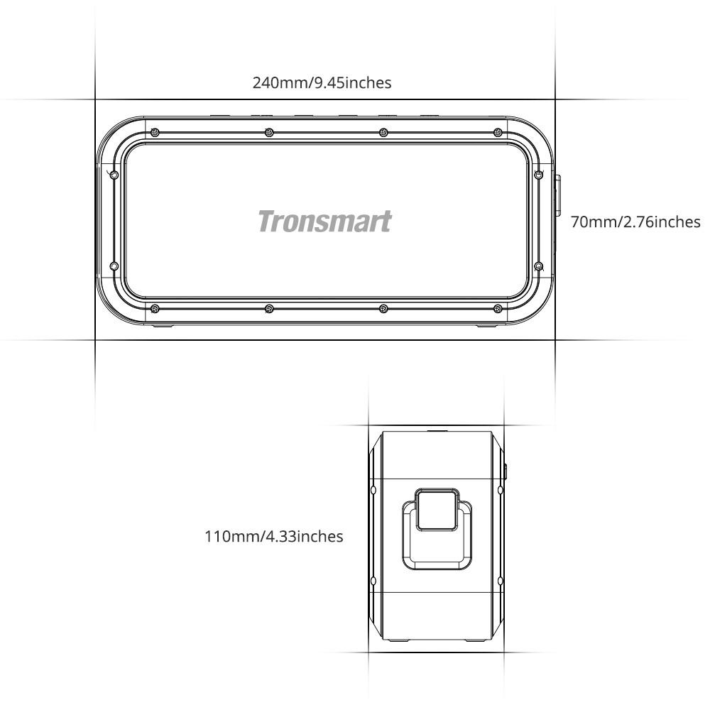 Tronsmart Force Pro Bluetooth Speaker(Updated)