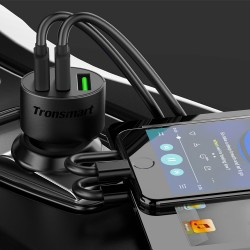 Tronsmart C3PTA Quick Charge 3.0 42W Car Charger
