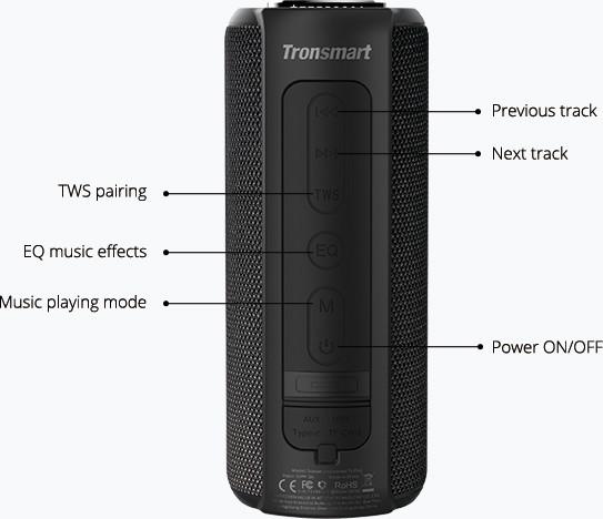 Tronsmart Element T6 Plus SoundPulse™ Portable Bluetooth Speaker