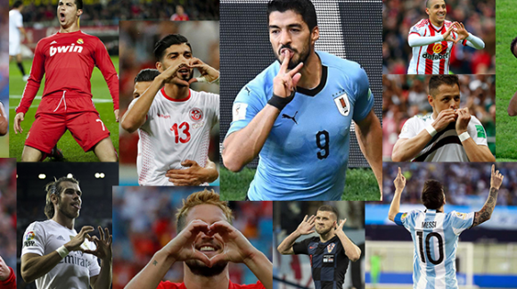 10 Famous Goal Celebrations of Footballers