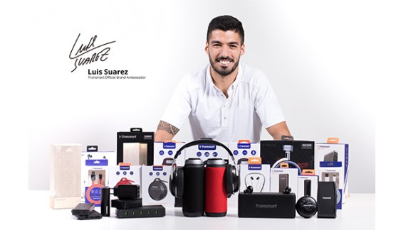 Accessories from Luis Suarez: The Loudest Speaker and the Thinnest Power Bank at 10,000 mAh
