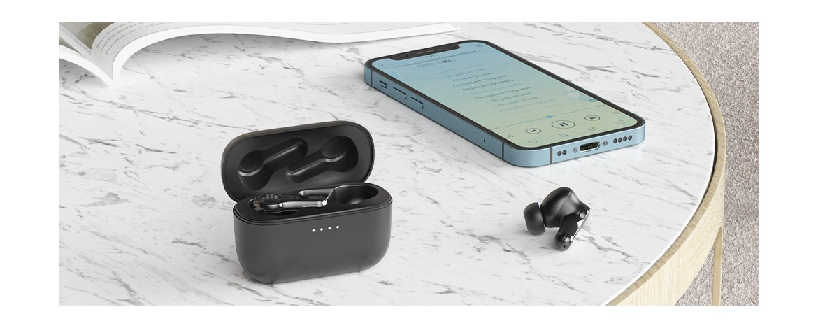 Tronsmart Onyx Apex True Wireless™ Stereo ANC Earbuds - ANC ON, Noise OFF